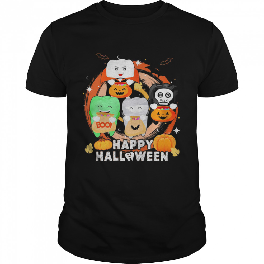 Dental Happy Halloween 2021 shirt