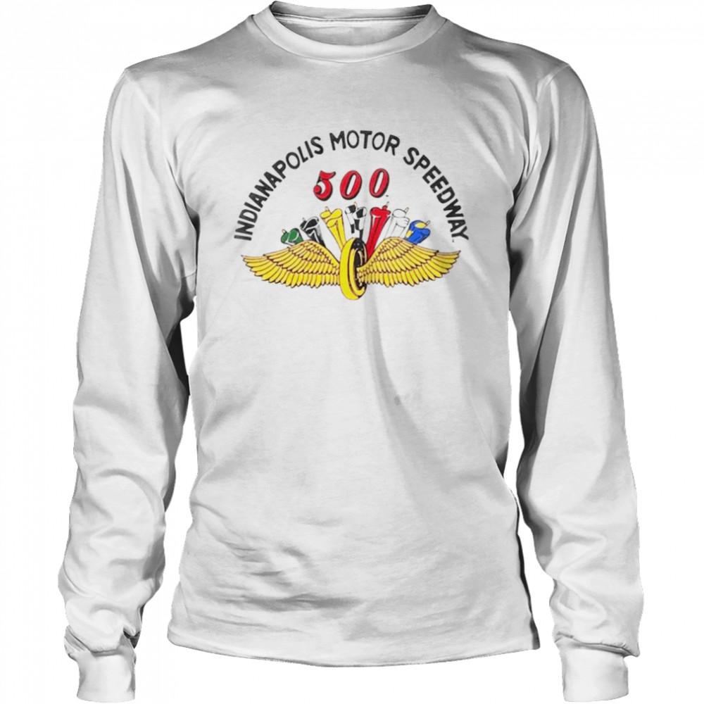 Indianapolis motor speedway 500 shirt Long Sleeved T-shirt