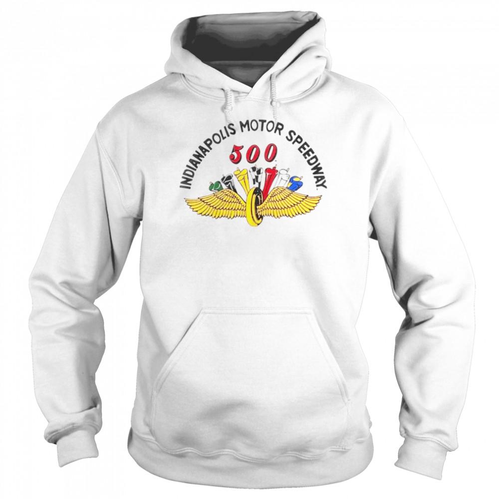 Indianapolis motor speedway 500 shirt Unisex Hoodie