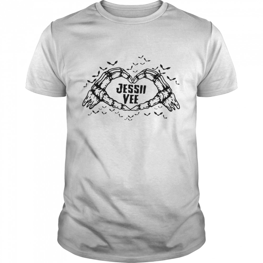 Jessii vee skeleton love shirt