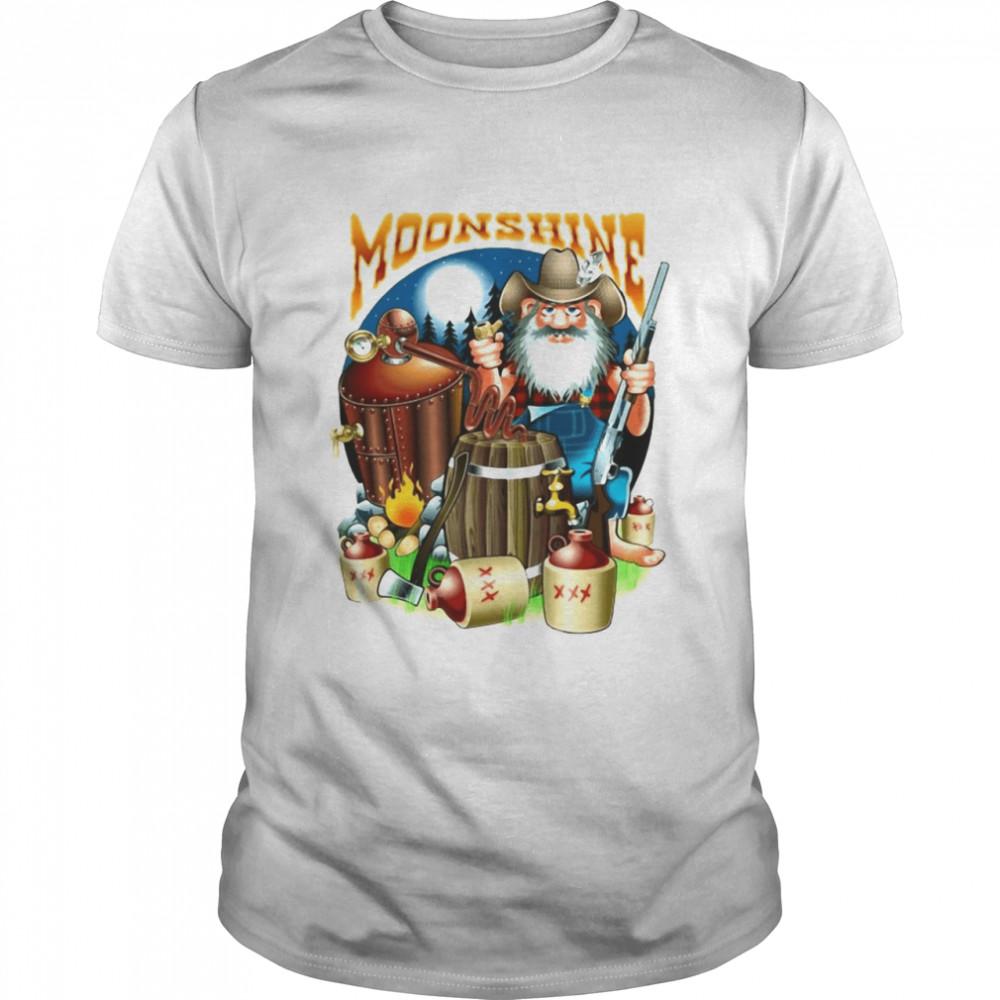 Moonshine Pappy's Moonshine Empire Gamer T-shirt