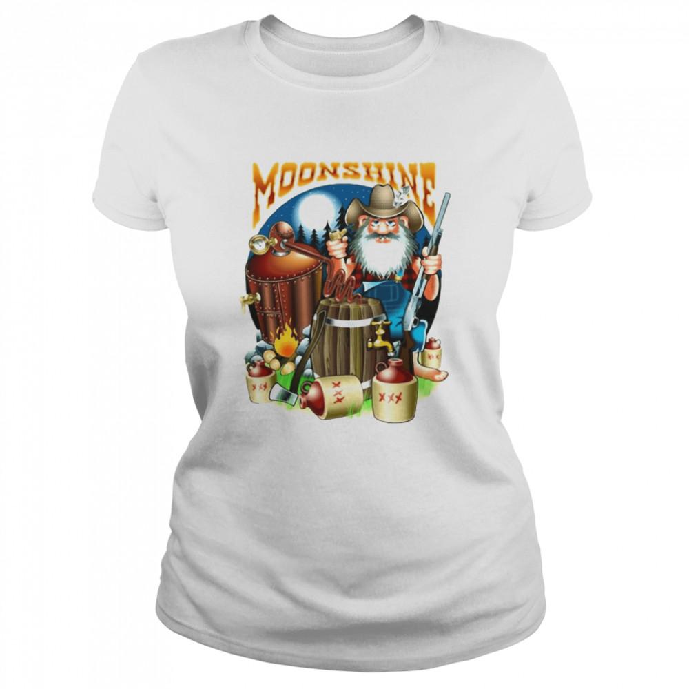 Moonshine Pappy's Moonshine Empire Gamer T-shirt Classic Women's T-shirt