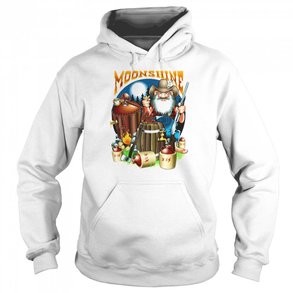 Moonshine Pappy's Moonshine Empire Gamer T-shirt Unisex Hoodie