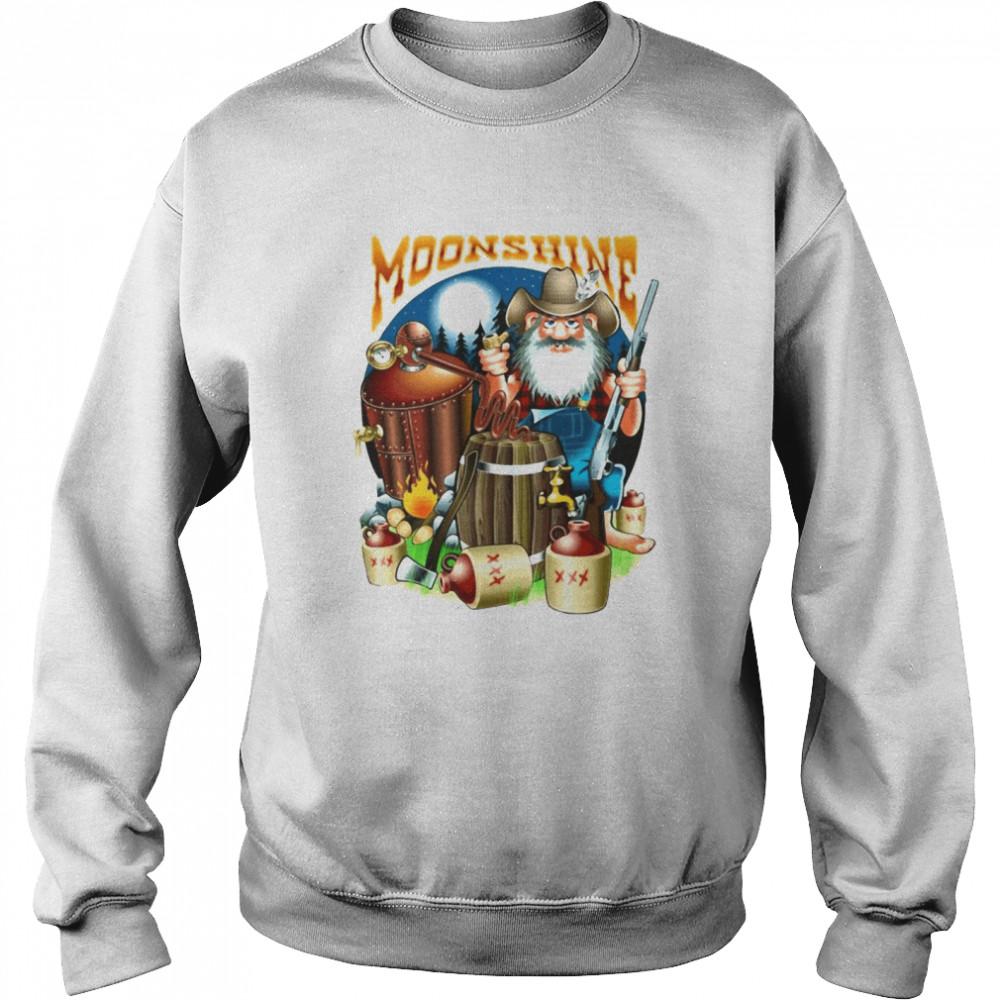 Moonshine Pappy's Moonshine Empire Gamer T-shirt Unisex Sweatshirt