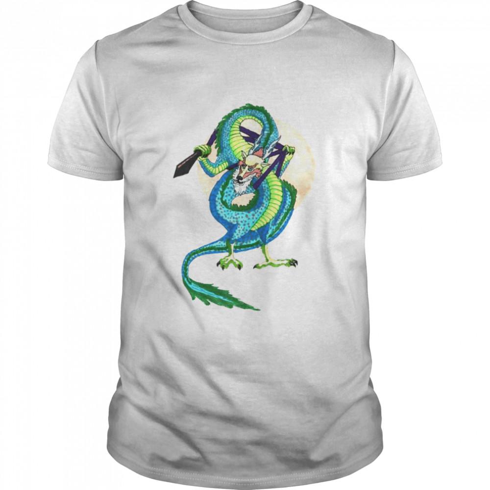 Ropedart Eastern Asian Dragon shirt
