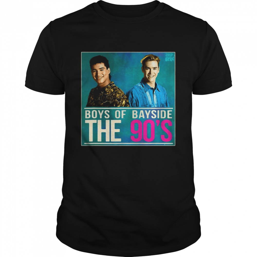 Saved By The Bell Zack And Slater 90S Shirt