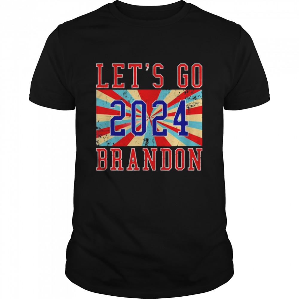 Brandon Let's Go Brandon 2024 Vintage Shirt