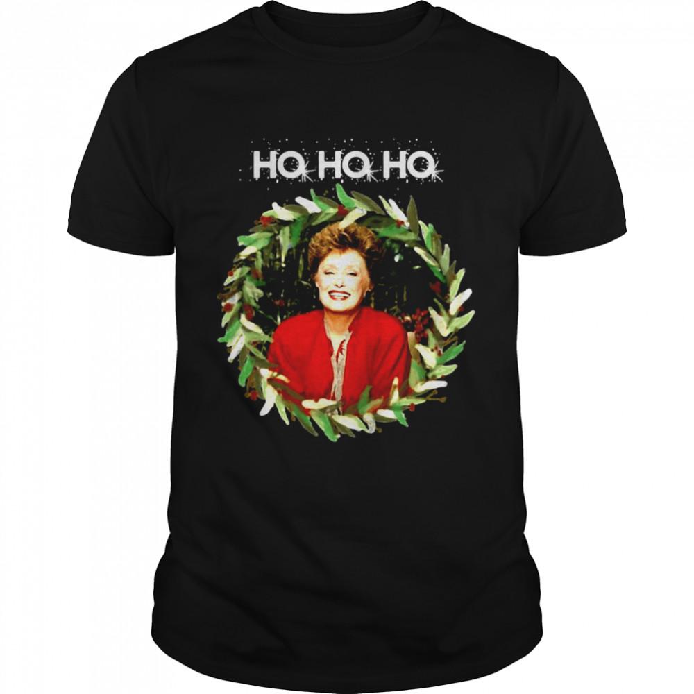 Ho Ho Ho Blanche Devereaux Christmas From The Golden Girls Sweater Shirt