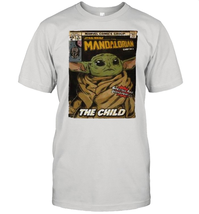 The mandalorian and baby yoda the child shirt Classic Men's T-shirt