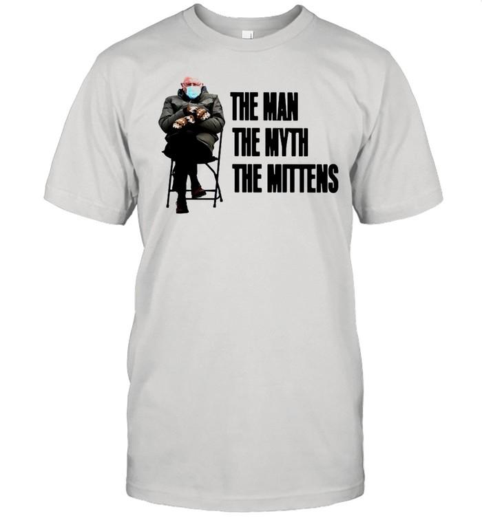 Bernie Sanders The Man The Myth The Mittens shirt Classic Men's T-shirt