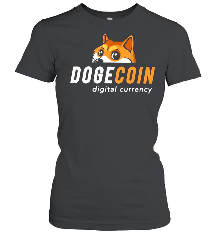 Dogecoin Digital Currency shirt Classic Women's T-shirt