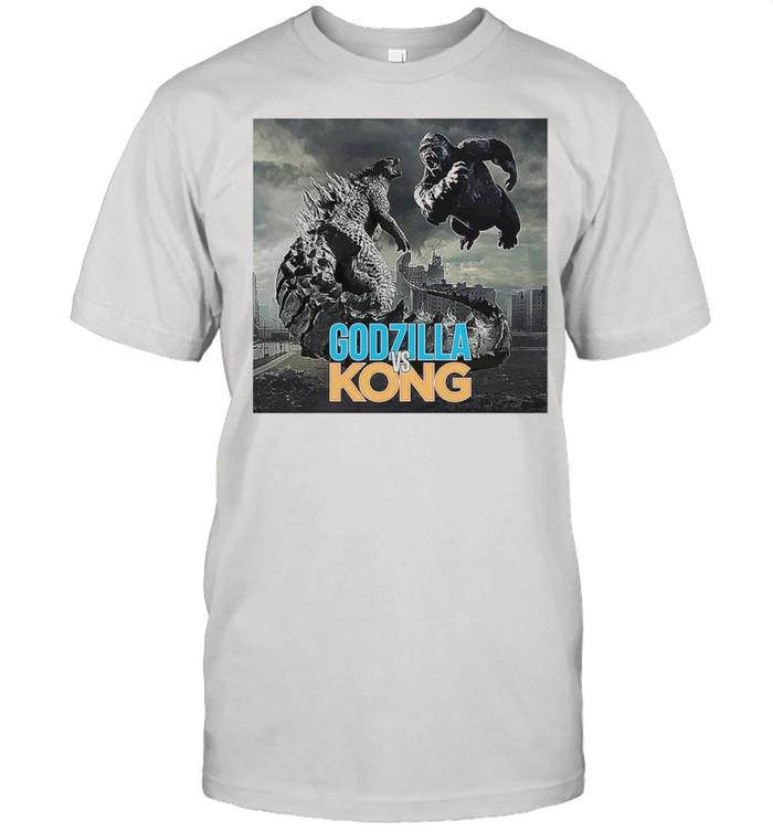 Godzilla vs Kong monster movies 2021 shirt Classic Men's T-shirt