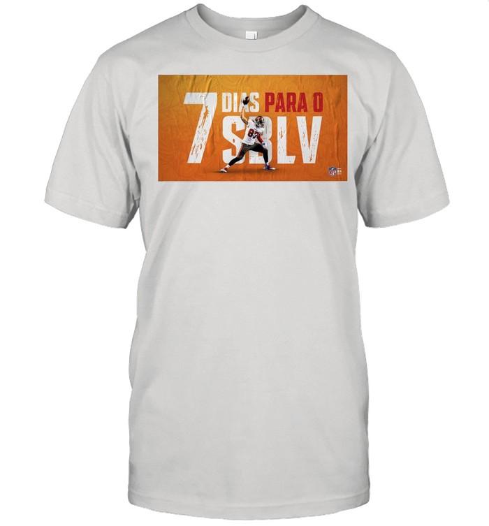 Rob Gronkowski Dias Para O 7 SBLV Nfl 2021 shirt Classic Men's T-shirt