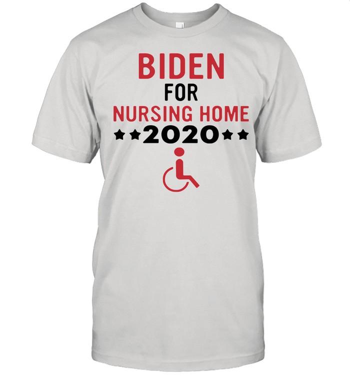 Biden for nursing home 2021 shirt Classic Men's T-shirt