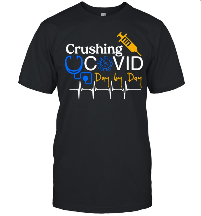 Crushing Covid Day By Day shirt Classic Men's T-shirt