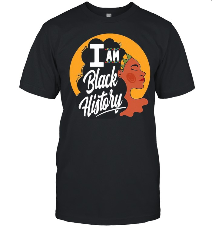 I Am Black History Month Gift African American Pride Month shirt Classic Men's T-shirt