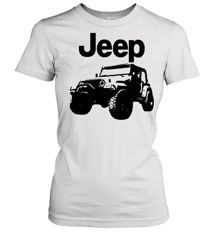 Love jeep shirt Classic Women's T-shirt