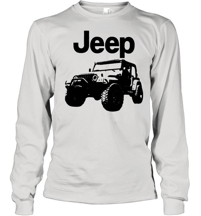 Love jeep shirt Long Sleeved T-shirt