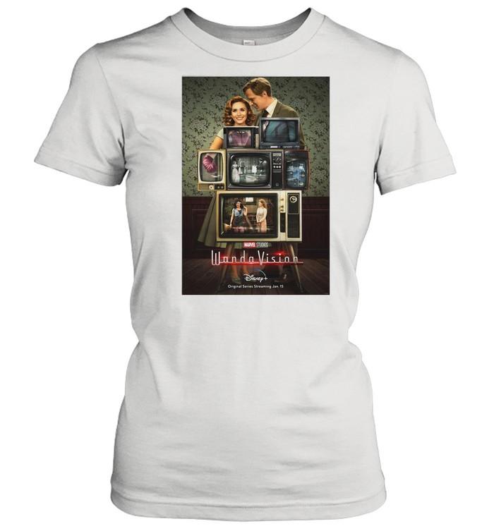 Marvel Wandavision Through The Years shirt Classic Women's T-shirt