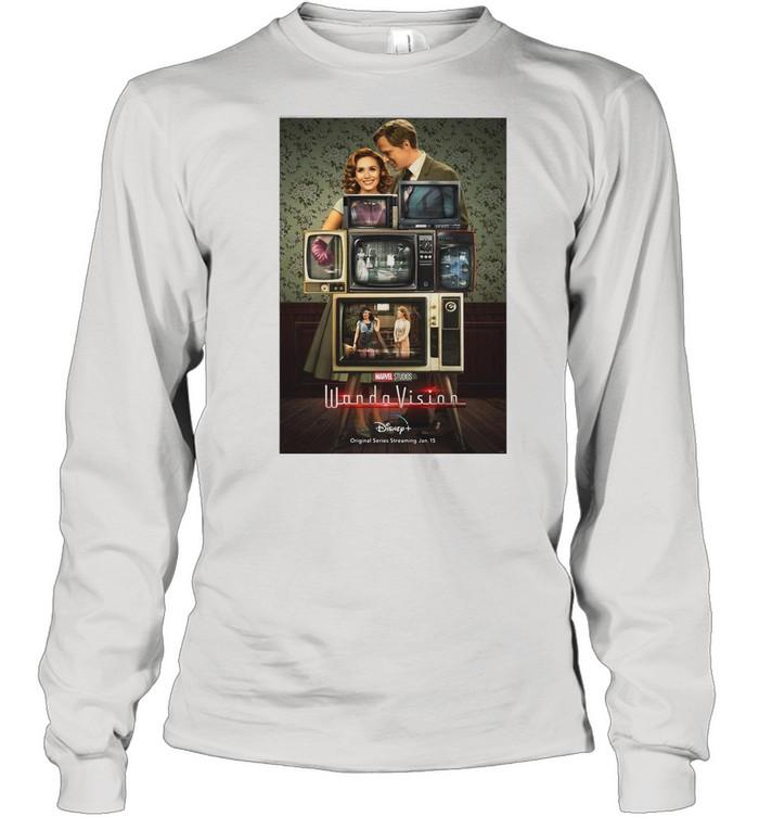 Marvel Wandavision Through The Years shirt Long Sleeved T-shirt