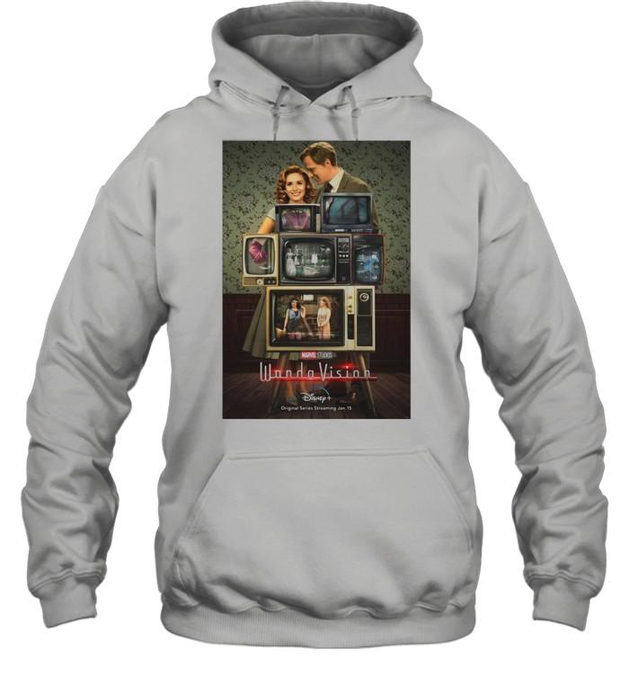 Marvel Wandavision Through The Years shirt Unisex Hoodie