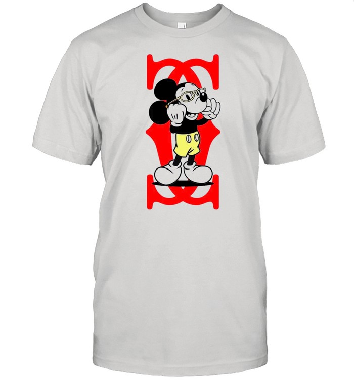Mickey Mouse Cartier Capital boss up shirt Classic Men's T-shirt
