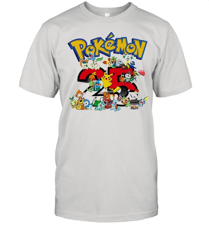 Pokemon 25th Anniversary shirt Classic Men's T-shirt