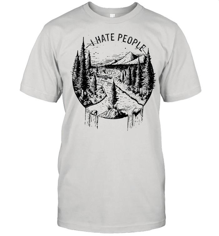 I hate people tshirt Classic Men's T-shirt