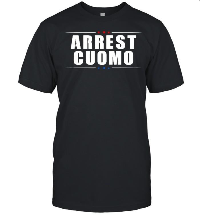 2021 Anti Cuomo Arrest Cuomo Funny Political shirt Classic Men's T-shirt