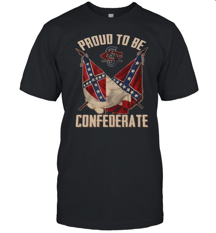 Proud To Be Confederate shirt Classic Men's T-shirt