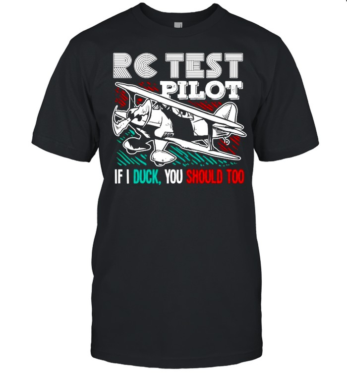 Rc Airplane Gift For An Rc Plane Pilot shirt Classic Men's T-shirt