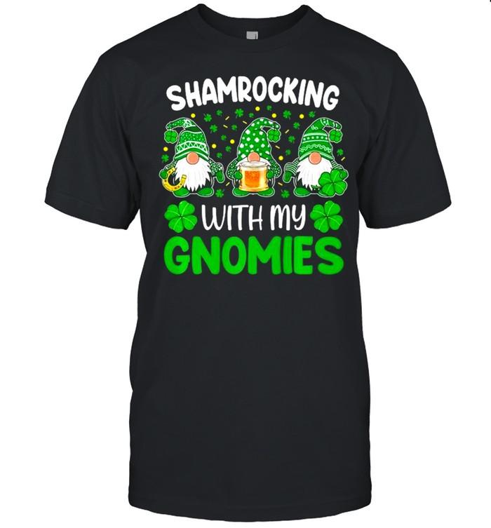 Shamrocking With My Gnomies St Patricks Day shirt Classic Men's T-shirt