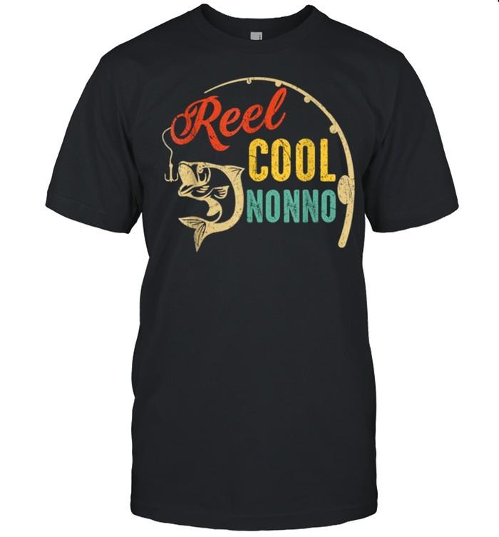 Vintage Fishing Reel Cool Nonno shirt Classic Men's T-shirt