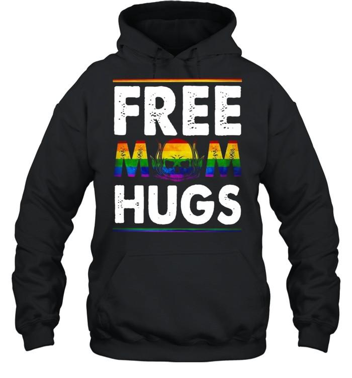 Free Mom Hugs Mothers Day Skull shirt Unisex Hoodie