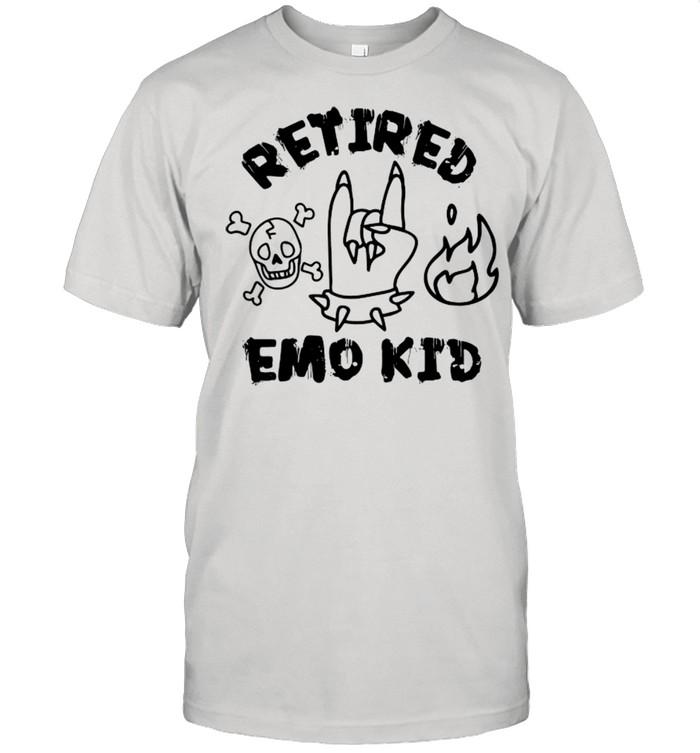 Retired Emo Kid  Classic Men's T-shirt