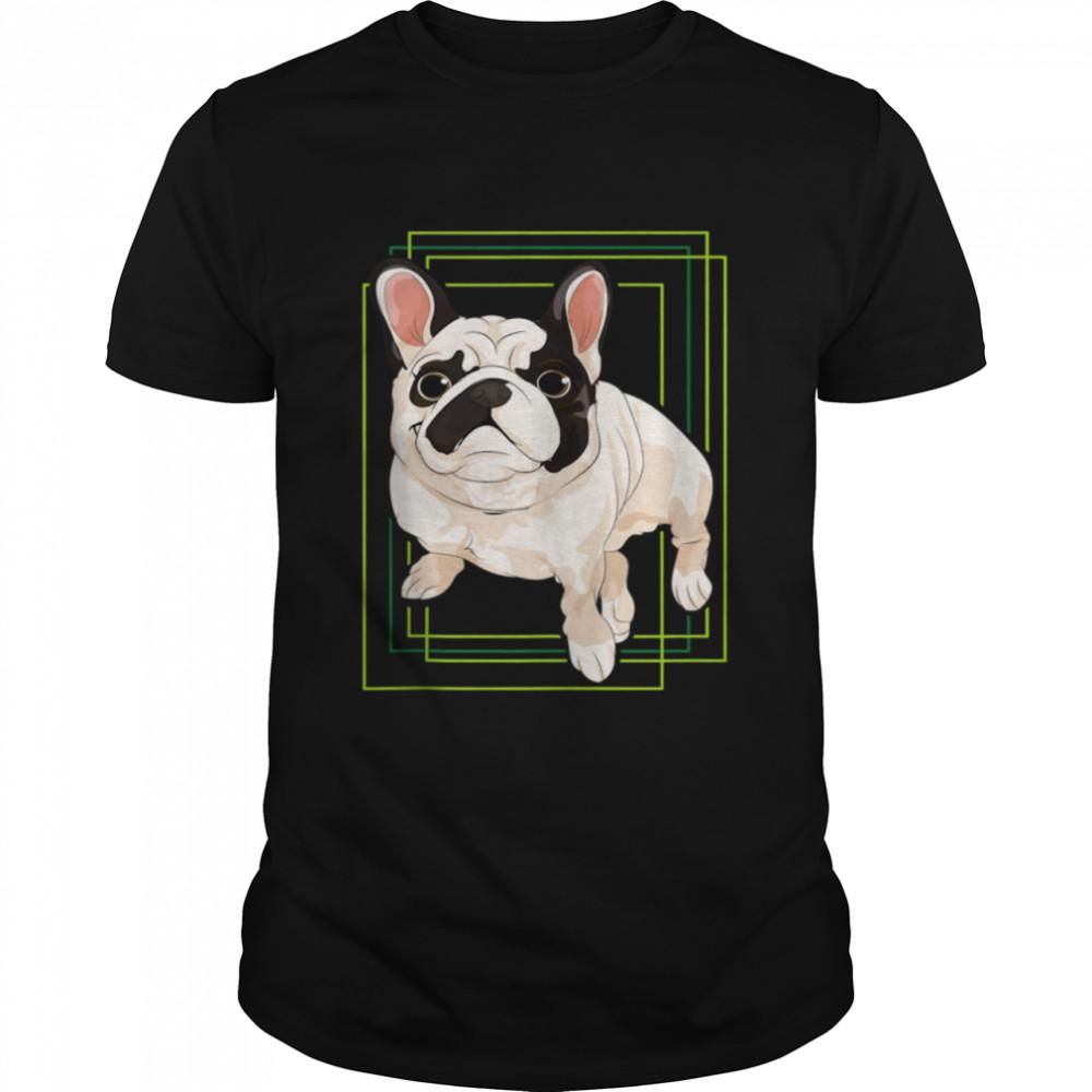Chubby Bulldog Frenchie Pet Animal Dog French Bulldog shirt Classic Men's T-shirt