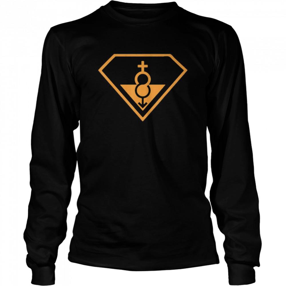 Super Straight Identity Gender Identity shirt Long Sleeved T-shirt