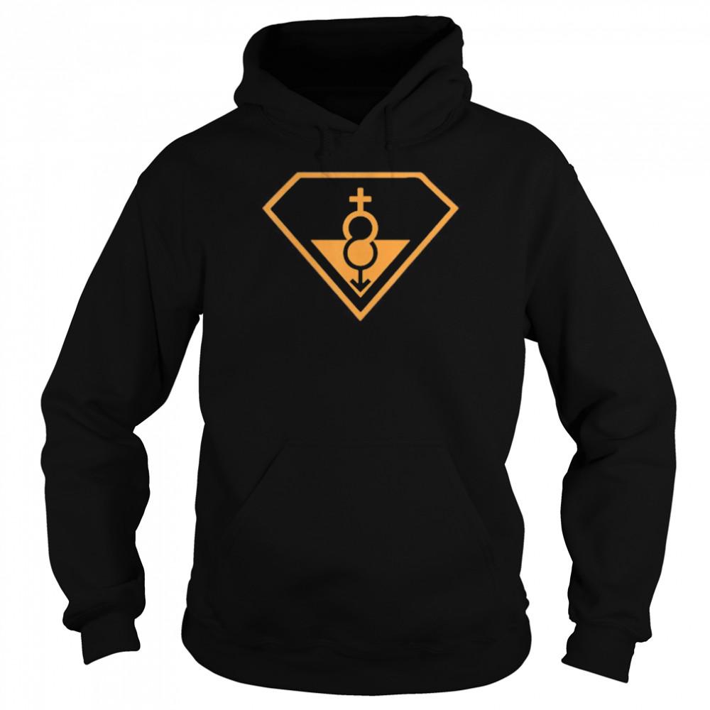 Super Straight Identity Gender Identity shirt Unisex Hoodie