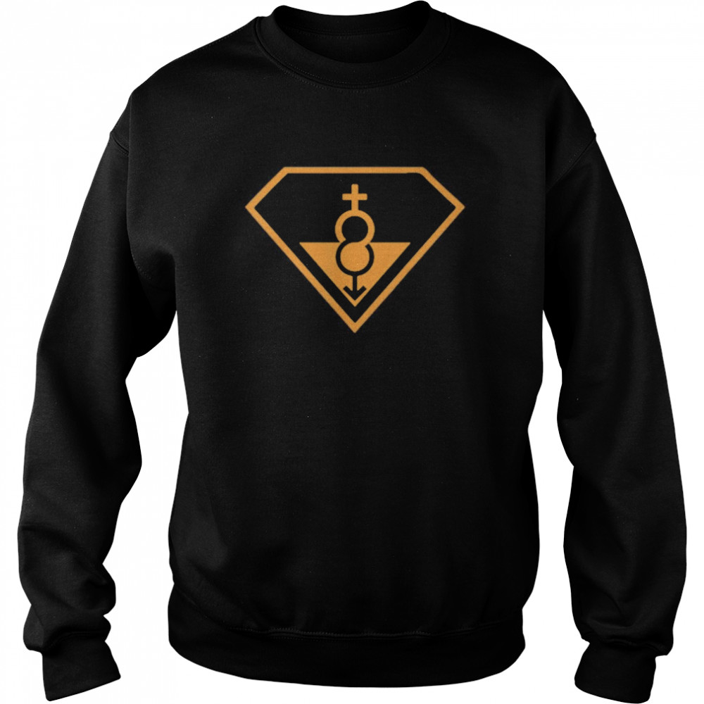 Super Straight Identity Gender Identity shirt Unisex Sweatshirt