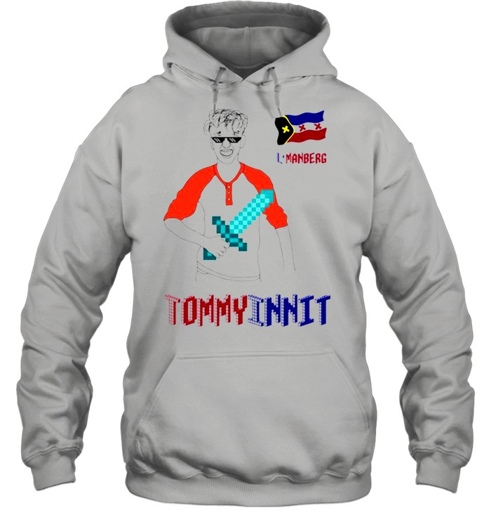 TommyInnit L'manberg minecraft shirt Unisex Hoodie