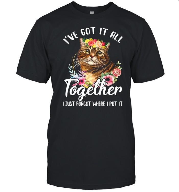 Cat I've Got It All Together I Just Forgot Where I Put It T-shirt Classic Men's T-shirt