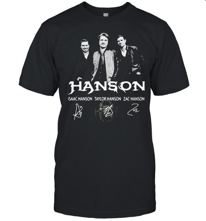 Hanson Isaac Vs Taylor Vs Zac Signature  Classic Men's T-shirt