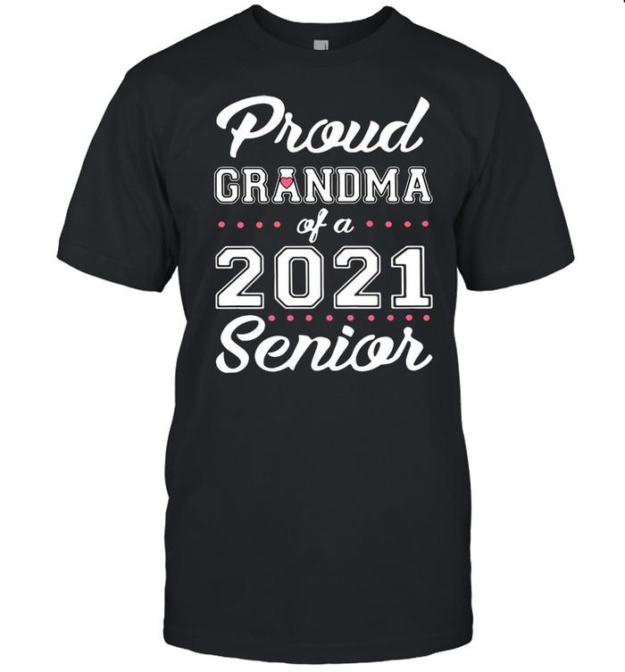 Proud Grandma Of A 2021 Senior shirt Classic Men's T-shirt