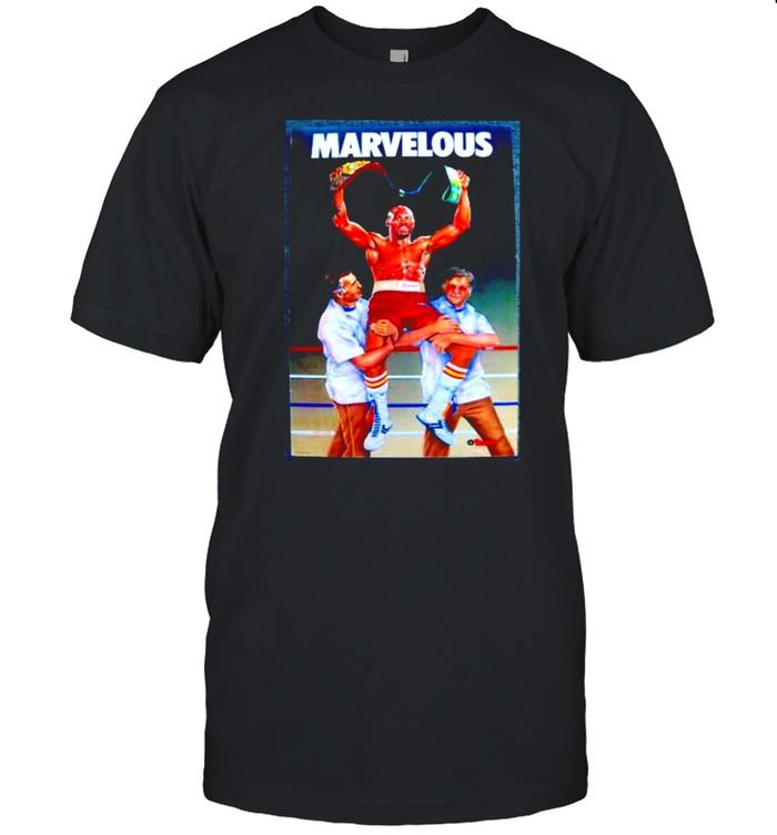 Marvin hagler win shirt Classic Men's T-shirt
