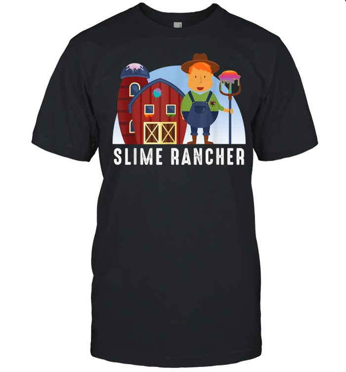 Slime Farmer With Barn And Farm shirt Classic Men's T-shirt