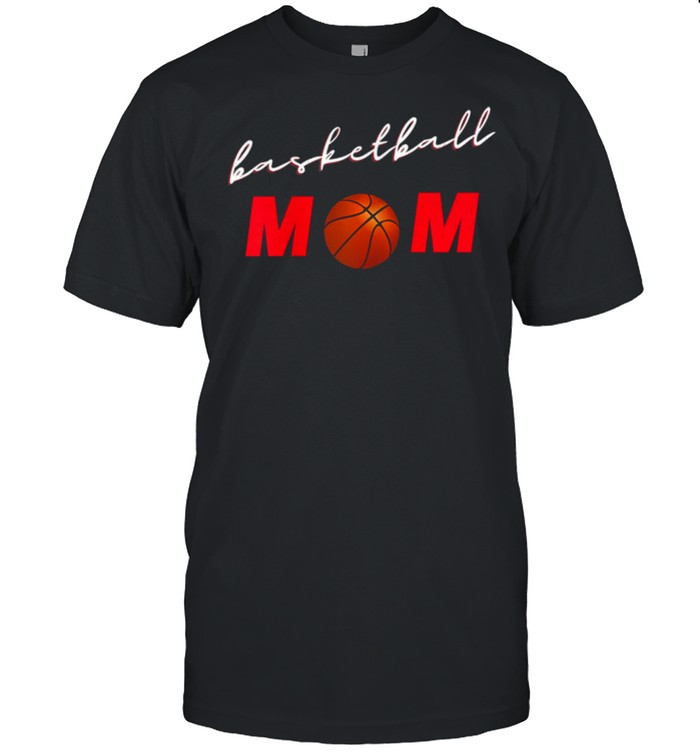 Basketball Mom Proud Mother Game Day Sports shirt Classic Men's T-shirt