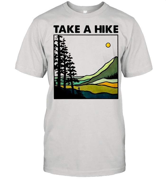 Hiking Take A Hike shirt Classic Men's T-shirt