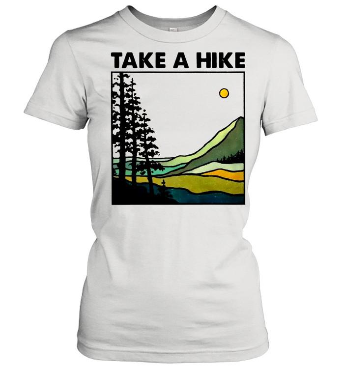 Hiking Take A Hike shirt Classic Women's T-shirt