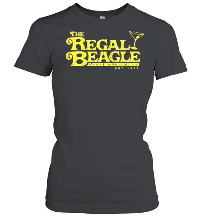 The Regal Beagle santa monica ca est 1977 shirt Classic Women's T-shirt