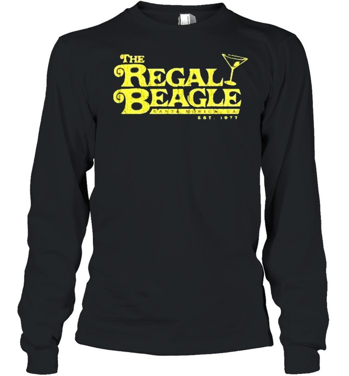 The Regal Beagle santa monica ca est 1977 shirt Long Sleeved T-shirt